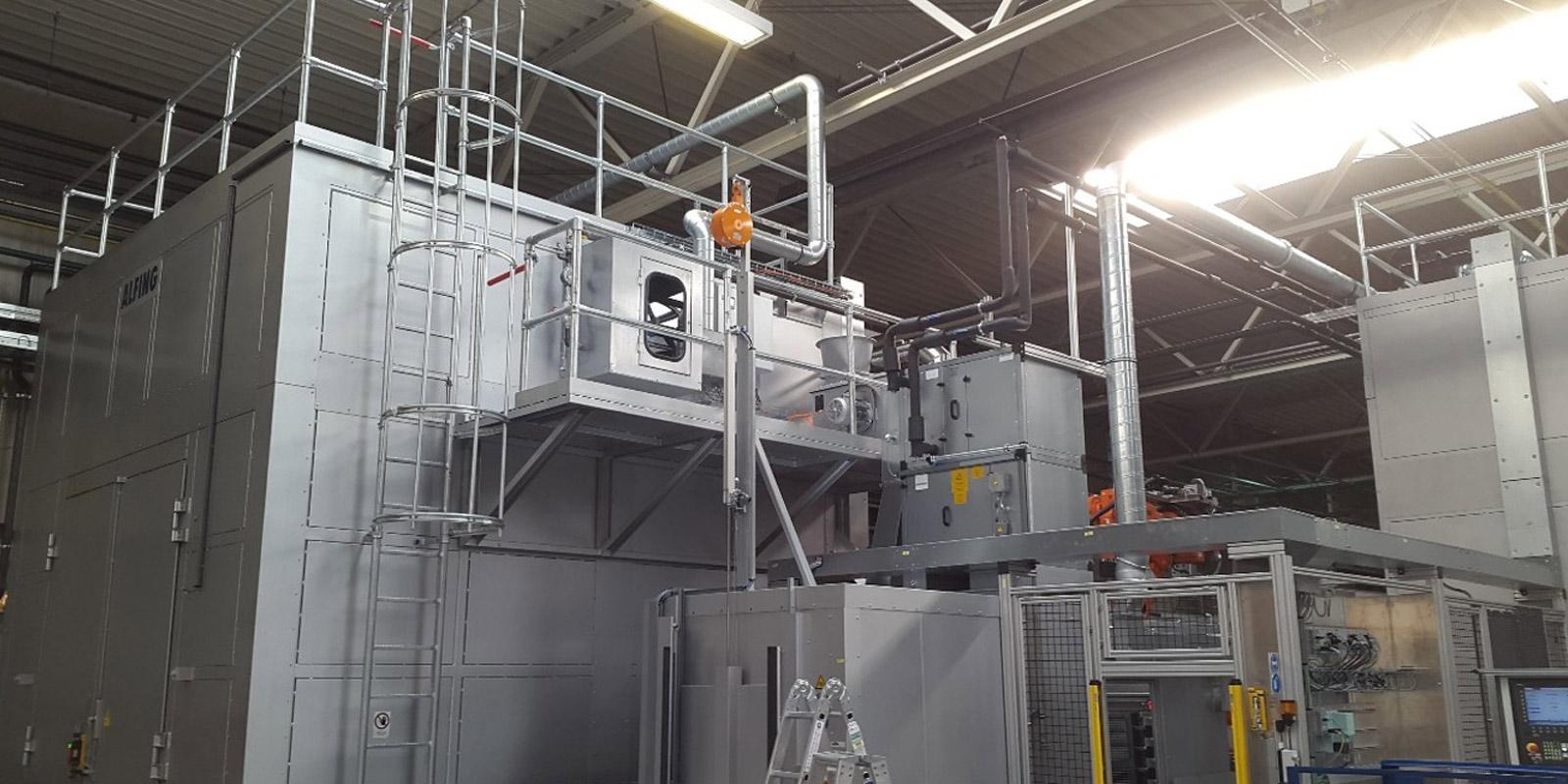 ELT Entstaubungs- & Lufttechnik - Anlagenbau Trocknung