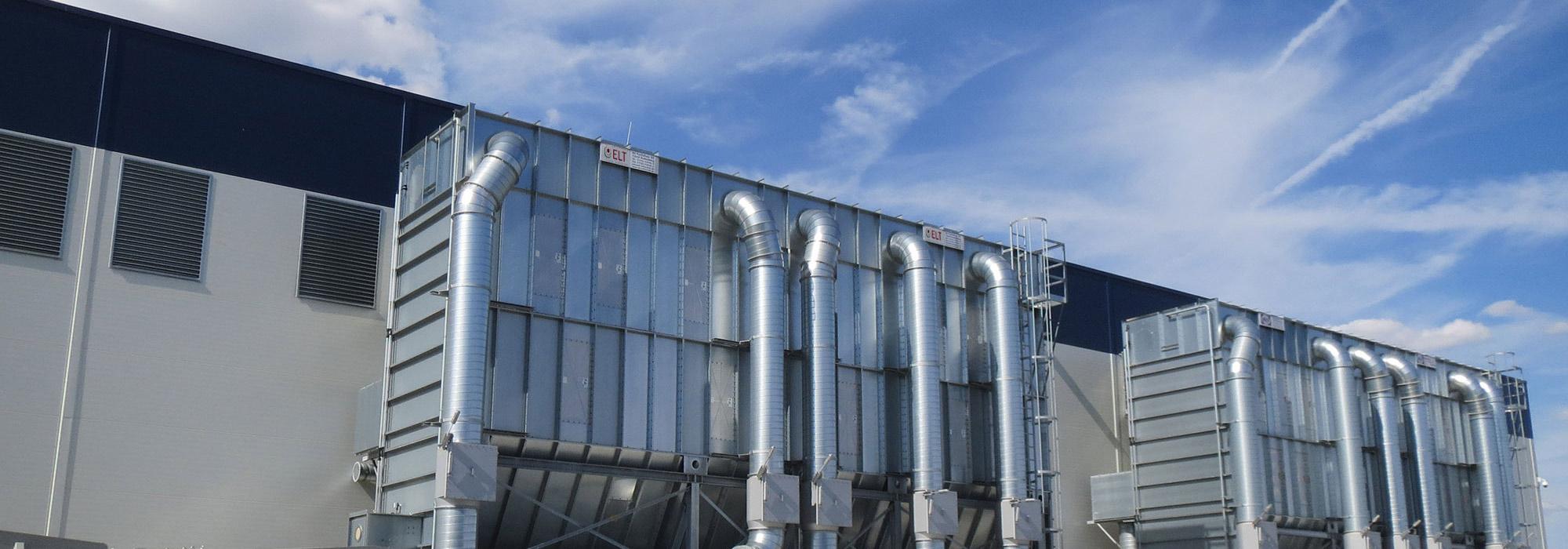 ELT Entstaubungs- & Lufttechnik - Reihenfilteranlage
